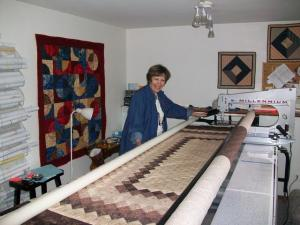 Julayne Jelle JJ's Longarm Machine Quilting (website )      Longarm Quilting  Julayne Jelle  2205 Manor Green Dr Madison, WI 53711 608-273-3620